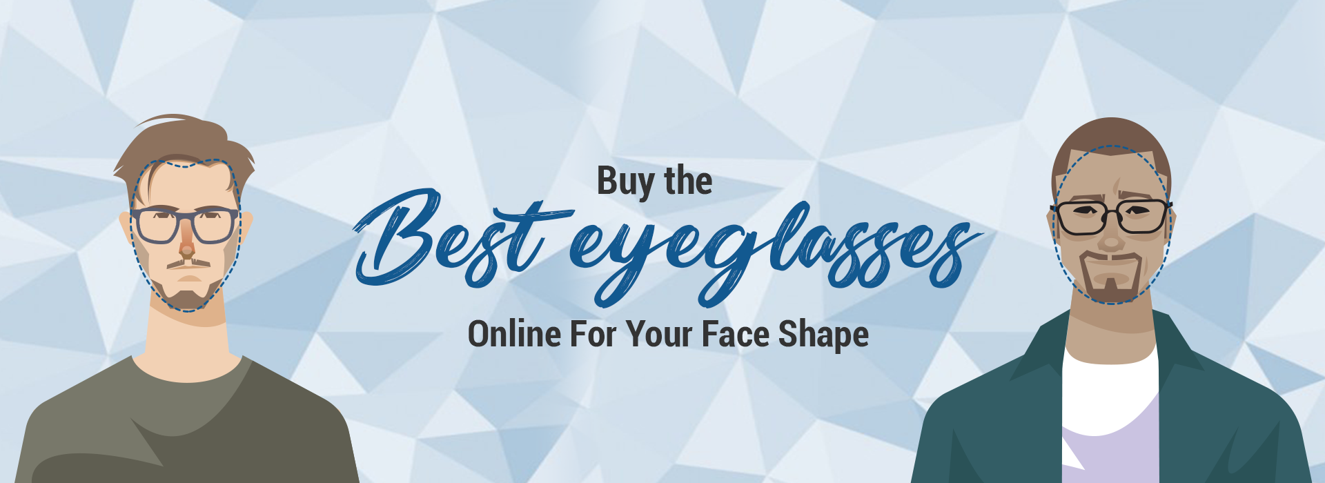 Buy The Best Eyeglasses Online For Your Face Shape