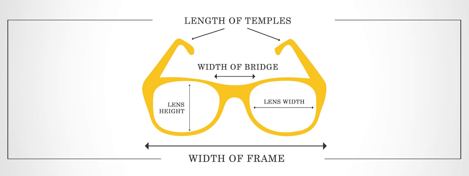 ACKNOWLEDGE YOUR FRAME SIZE