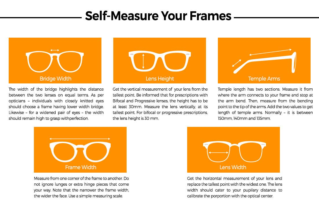 FOR ALL THE RIGHT REASONS - HOW TO SELF-MEASURE YOUR EYEGLASSES?