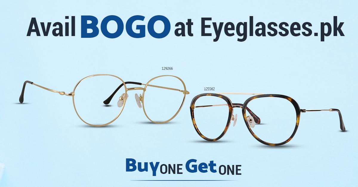 3) Get Buy One Get One - Visit Eyeglasses.pk: