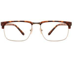 G4U 815089H Browline Eyeglasses 126329-c