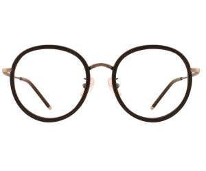G4U 816007D Round Eyeglasses 126334-c