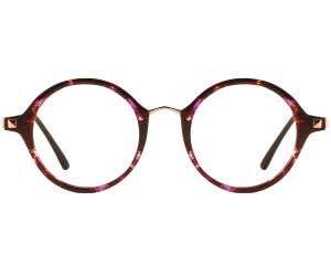 G4U 815114C Round Eyeglasses 126351-c