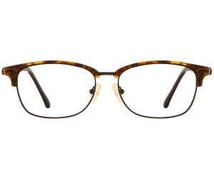 G4U 8005 Browline Eyeglasses 127146-c