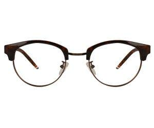 Browline Eyeglasses 128781-c