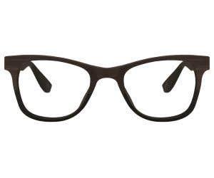 Wood Eyeglasses 128804-c