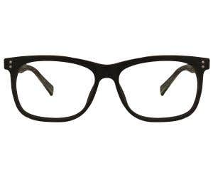 Wood Rectangle Eyeglasses 128828-c