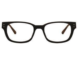 Wood Rectangle Eyeglasses 128880-c