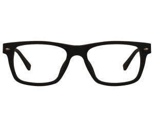 Wood Rectangle Eyeglasses 128890-c