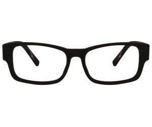Wood Rectangle Eyeglasses 128894-c