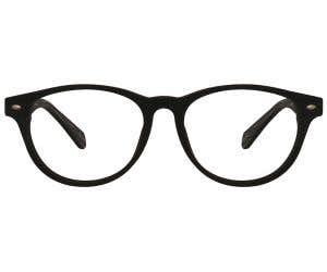 Wood Round Eyeglasses 128900