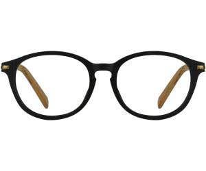 Wood Eyeglasses 130431-c