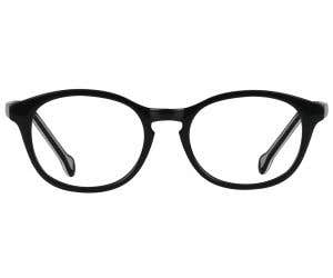 Kids Round Eyeglasses 131619-c