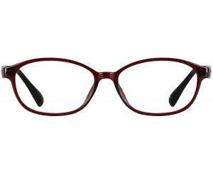Oval Eyeglasses 136239-c