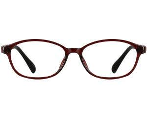 Oval Eyeglasses 136351-c