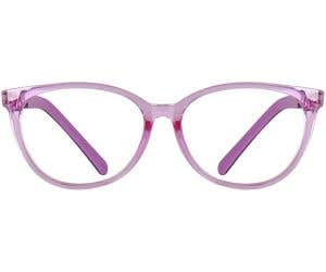 Kids Cateye Eyeglasses 140188-c
