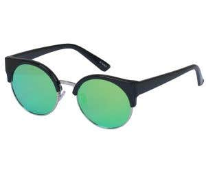 Browline Cat Eye Sunglasses 6025