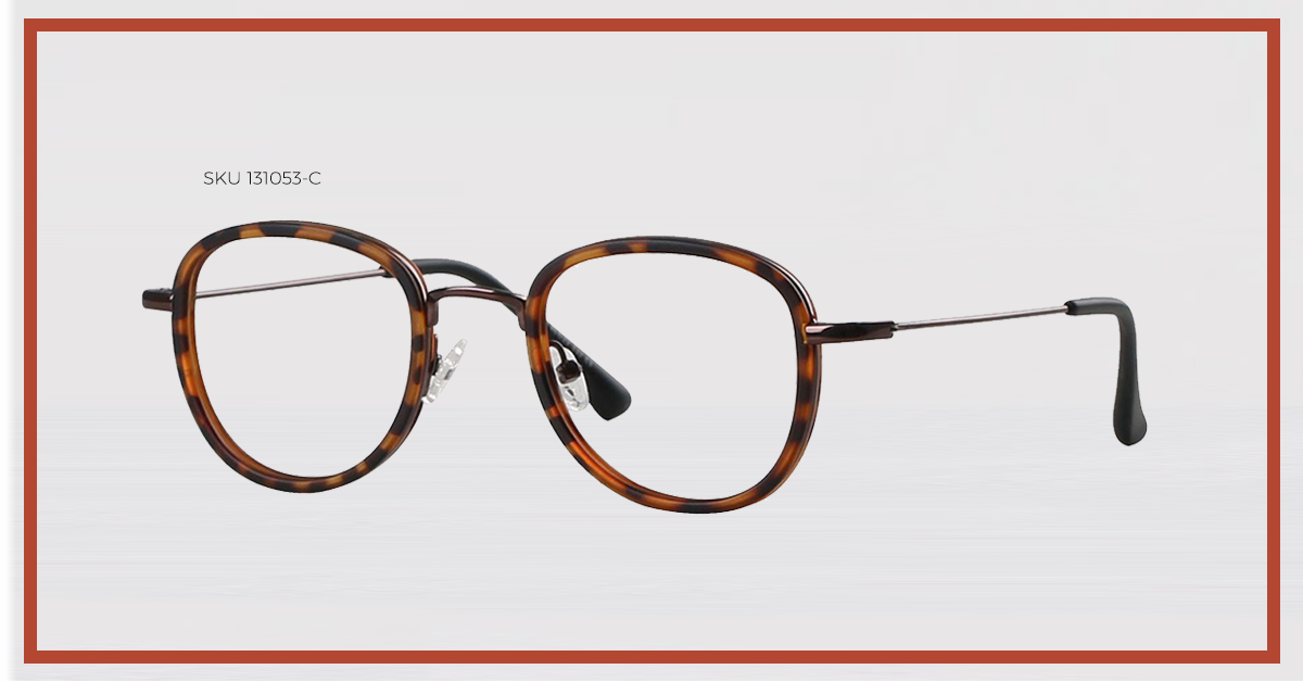 Trending Tortoise Shell - The 131053-C Glasses