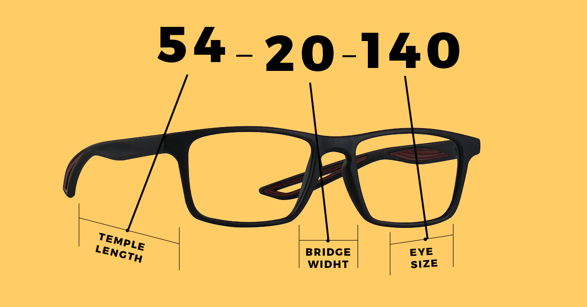 Understanding The Printed Numbers On Your Glasses