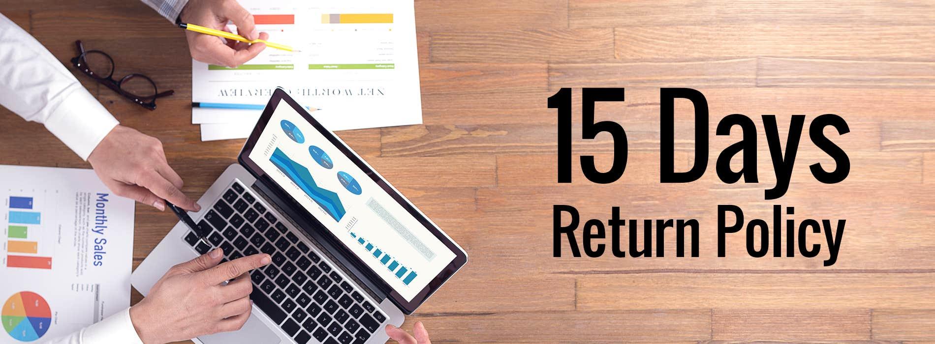 15 Days Return Policy
