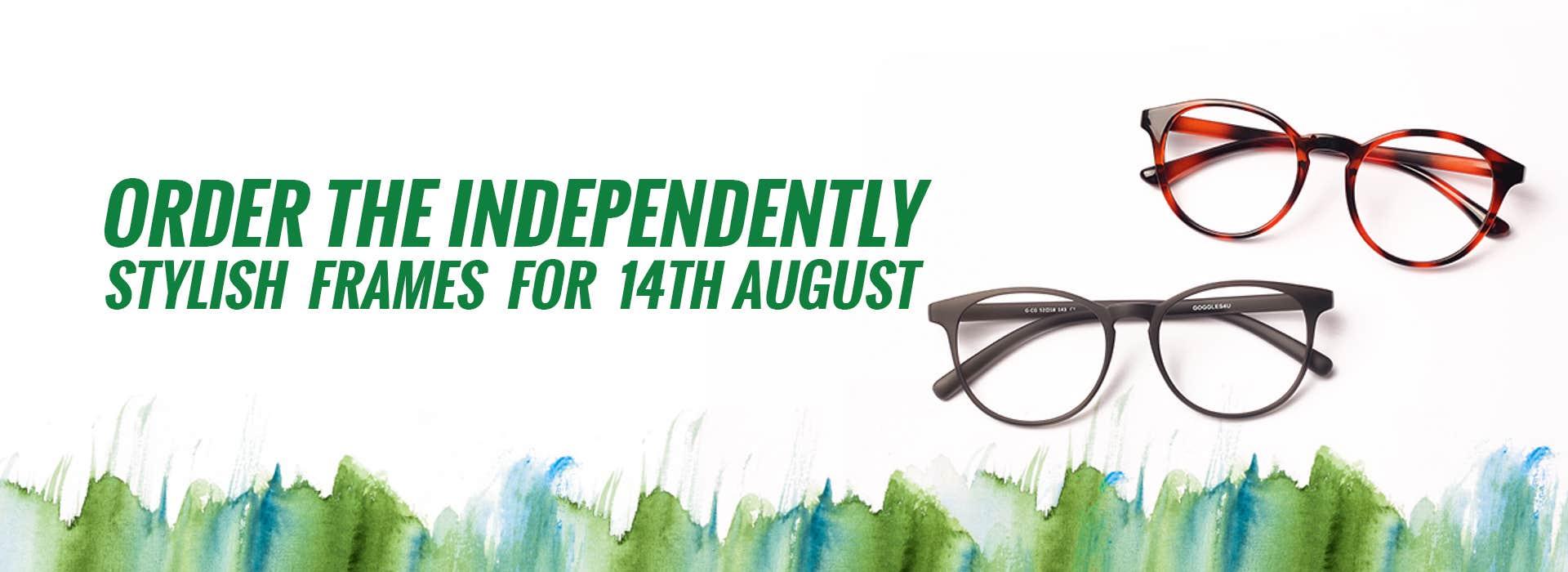 Buy Stylish Independence Day Glasses at Eyeglasses PK