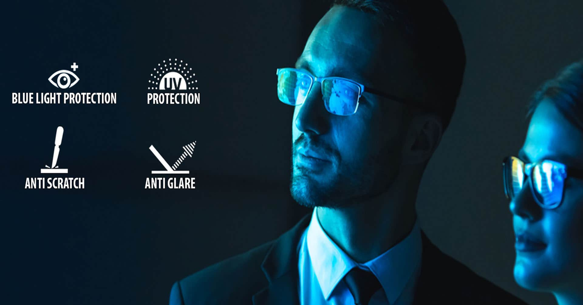 BLUE-CUT DIGITAL PROTECTION LENS